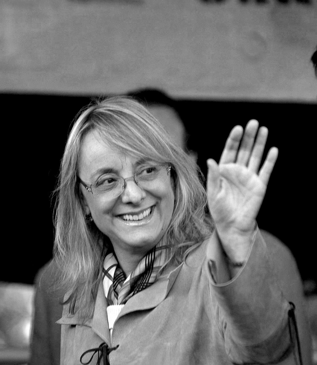 Alicia Kirchner, gobernadora de Santa Cruz