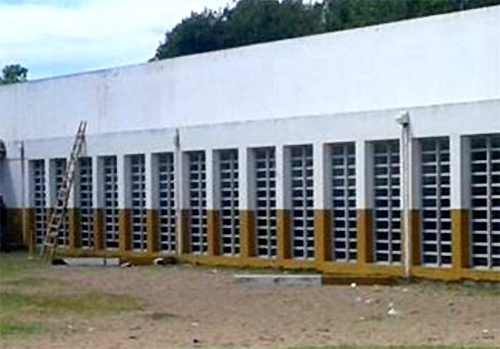 Columnas colegio Las Toninas