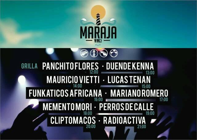 Grilla Maraja Vive