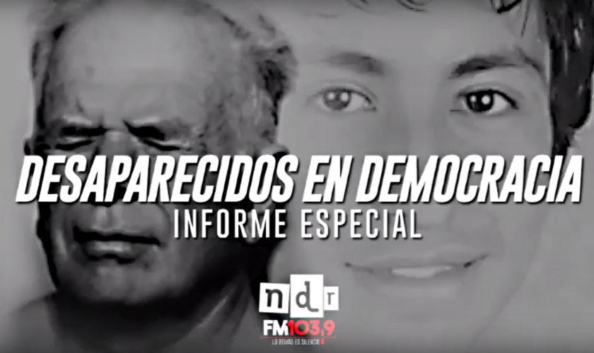 Desaparecidos Democracia