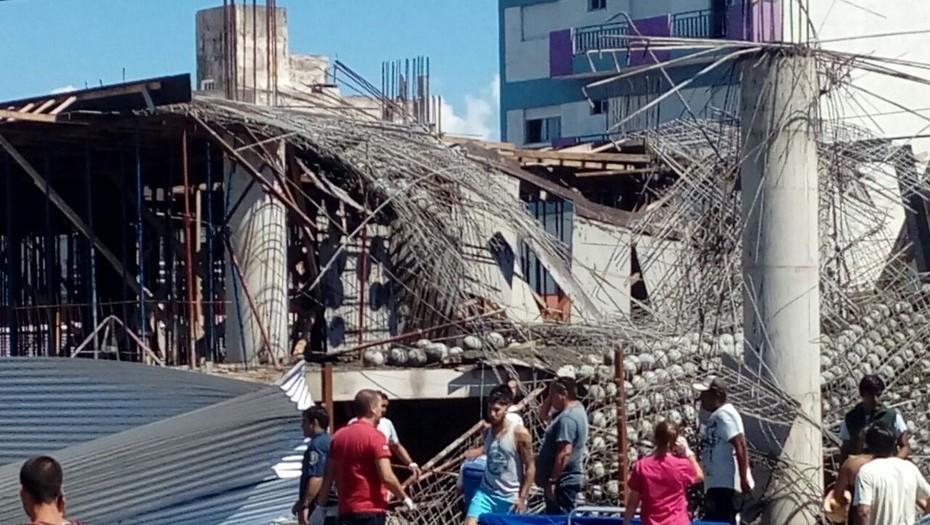 Derrumbe Centro Cultural