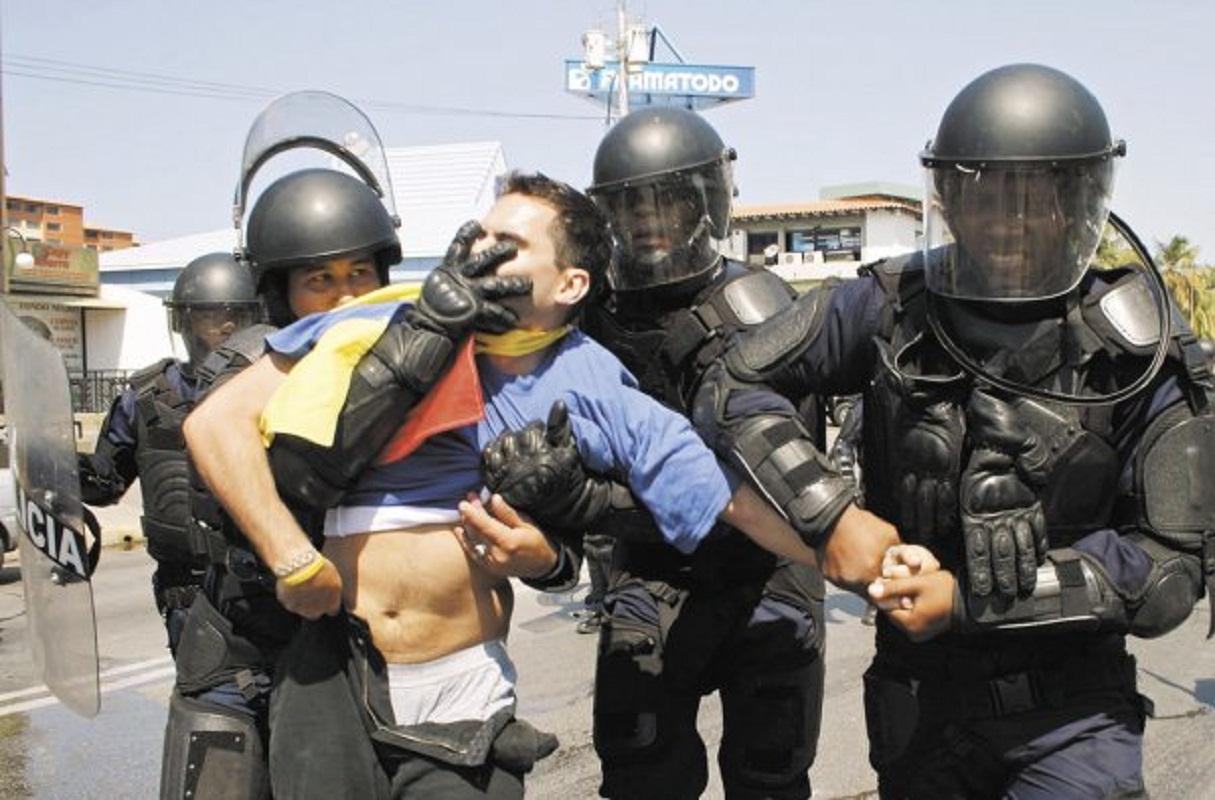 Represión chavista