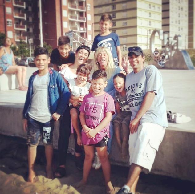 Brisa y su familia